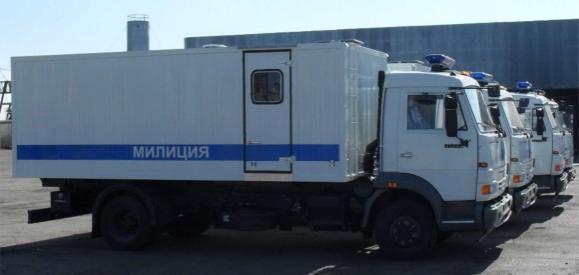 Автозак - Камаз